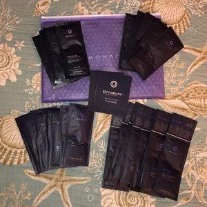 Monat Hair Product Samples!